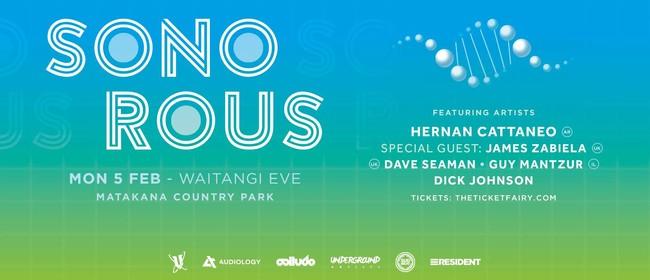 Sonorous Festival ft Hernan Cattaneo, James Zabiela & More