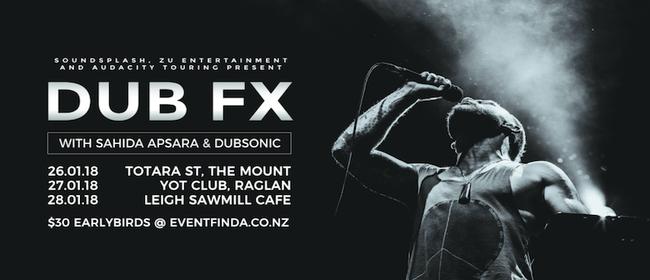 Dub FX with Sahida Aspara & Dubsonic