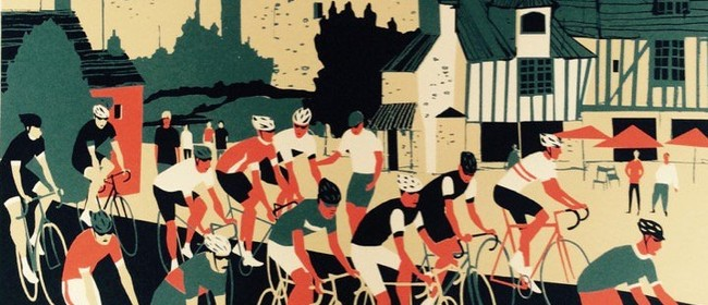 Eliza Southwood - Bicycle Prints and Coffee Painting