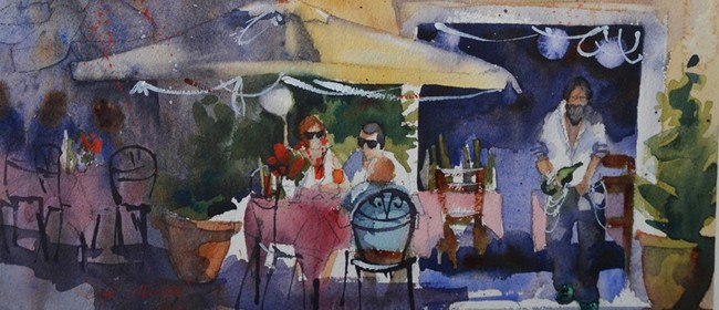 Watercolour Evening Classes With Amanda Brett