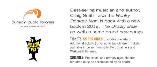 Craig Smith - Wonky Donkey Man - New Book Release Show