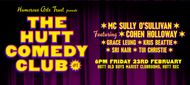 The Hutt Comedy Club #1 Featuring Cohen Holloway