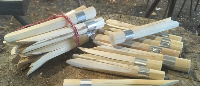 Rekindle Workshop: Making Clothes Pegs With Local Hazel Wood
