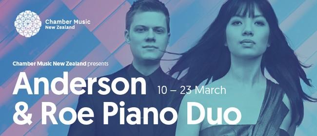 CMNZ Presents: Anderson & Roe Piano Duo