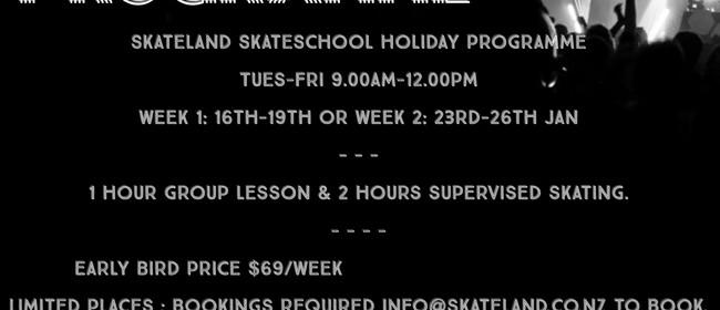 Skateland School Holiday Programme