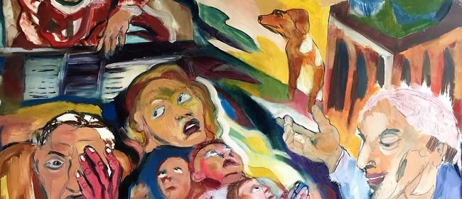 Alice Astell Saints & Sinners Exhibition