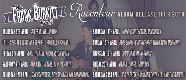 The Frank Burkitt Band Raconteur Tour