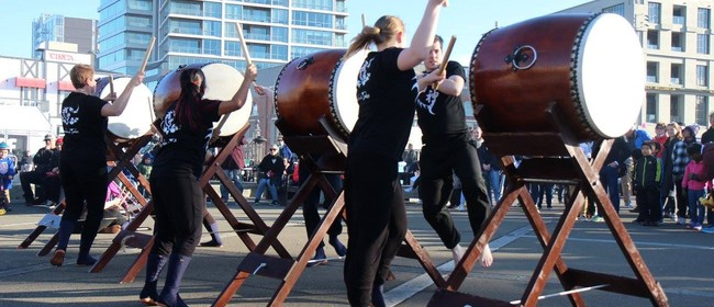 Learn Japanese Taiko Drumming