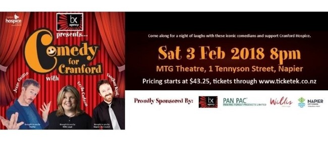 Comedy Gala Fundraiser With Cranford Hospice