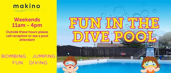 Fun In the Dive Pool