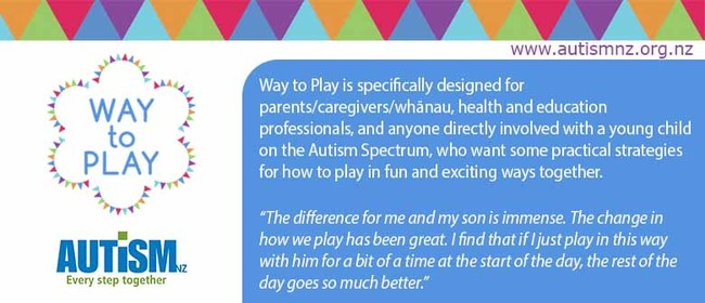 Autism Workshop Way to Play Waikato