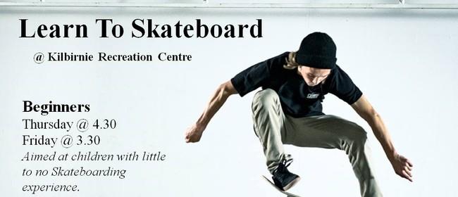 Learn to Skateboard - Beginners
