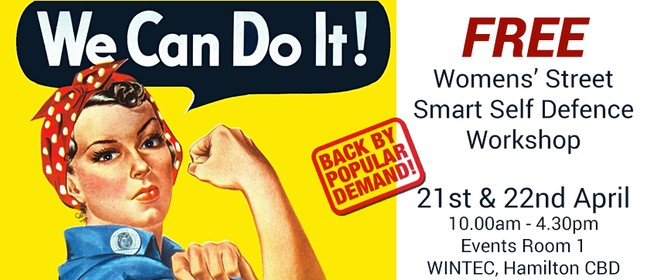 Women's Street Smart Free 2 Day Self Defence Workshop