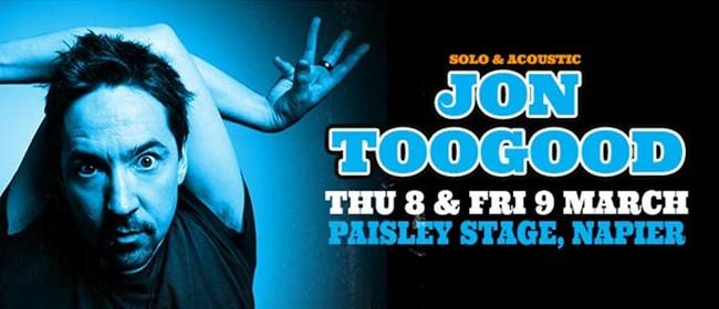 Jon Toogood Acoustic Tour