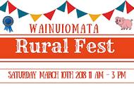 Wainuiomata Rural Fest 2018