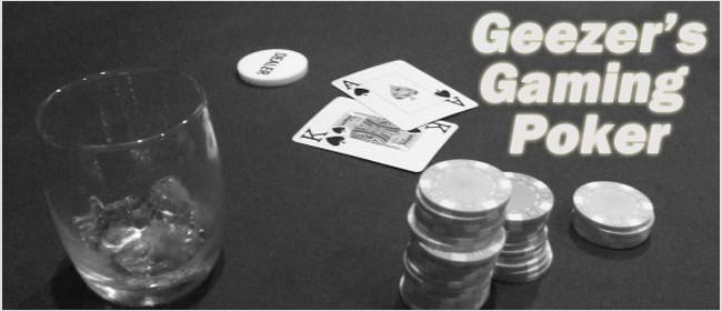 Geezer's Gaming Texas Hold'em Poker Tournament