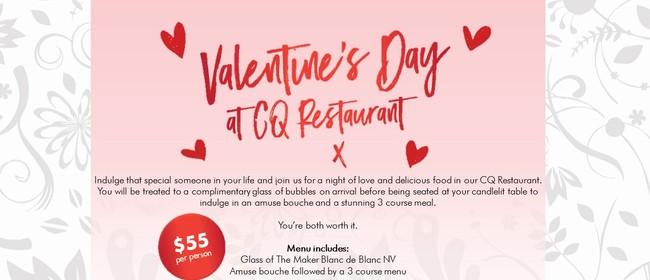 Valentines Day at CQ Wellington - Wellington - Stuff Events
