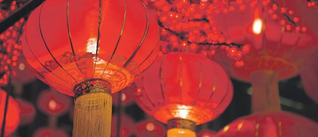 Chinese New Year Garden pop-up