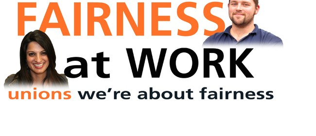 Fairness at Work Rally