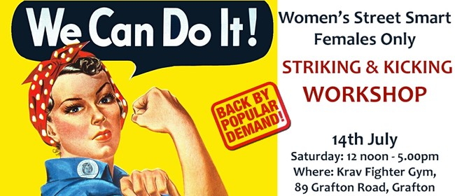 Women's Street Smart Striking and Kicking Workshop: CANCELLED