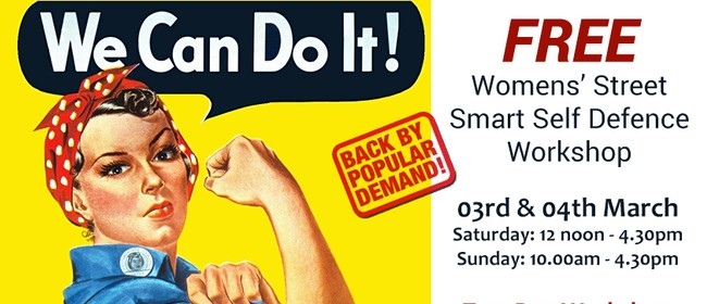 Women's Street Smart Free Self Defence Workshop: SOLD OUT