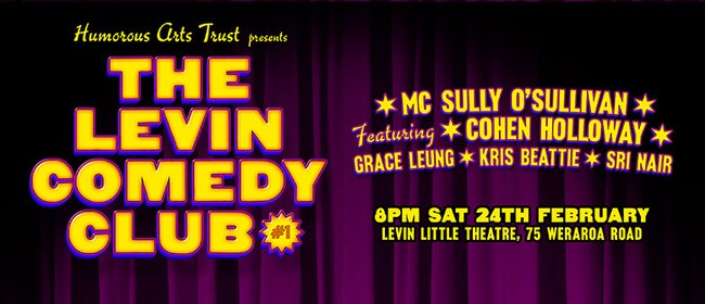 The Levin Comedy Club featuring Cohen Holloway