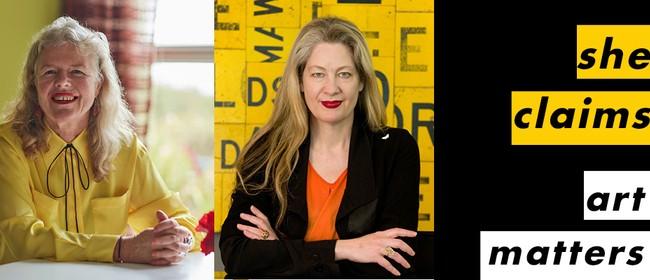 She Claims #1 – Judy Darragh and Rhana Devenport