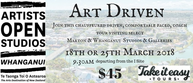 Whanganui & Marton Artists Open Studios - Art Driven