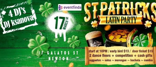 St Patrick`s Latin Party