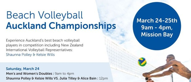 BVA Championships: Men's & Women's Doubles Beach Volleyball