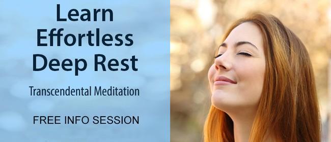 Transcendental Meditation Info Session