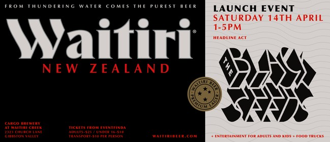 Waitiri Launch - Featuring The Black Seeds: SOLD OUT