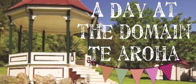 A Day At the Domain Te Aroha