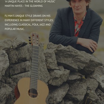 Dave Flynn - Master Guitarist with Three Point Turn