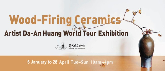 Wood-Firing Ceramics – Artist Huang Da-An World Tour Exhibit