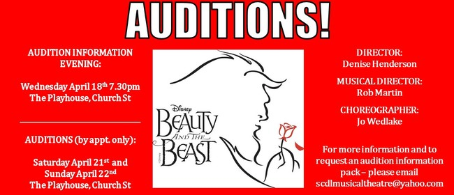 Disney's Beauty and the Beast - Auditions