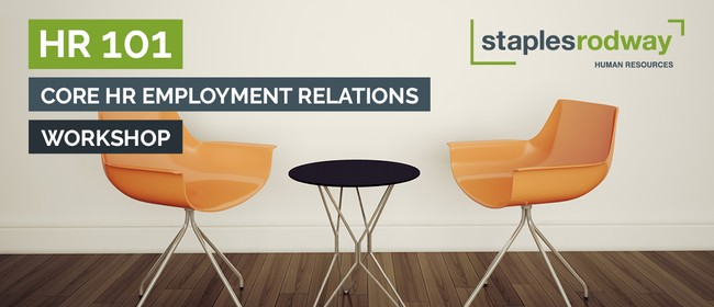 HR 101 – Core HR Employment Relations