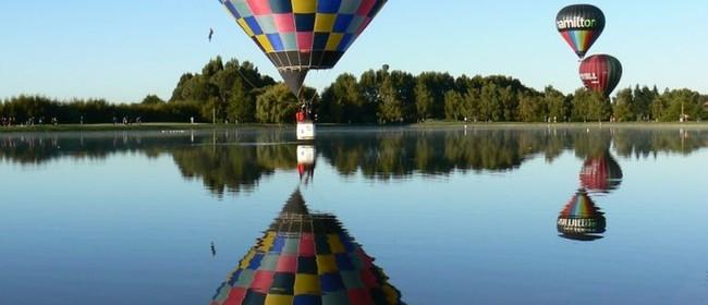 Wairarapa Balloon Festival - Resene Splash n Dash