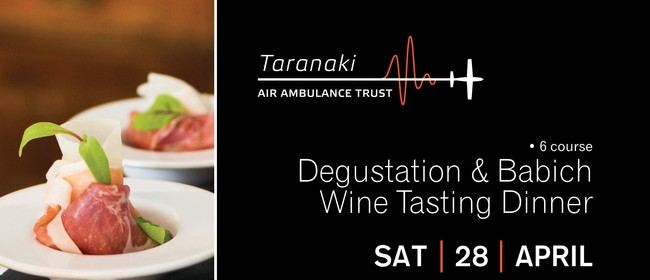 Taranaki Air Ambulance Degustation & Babich Wine Dinner