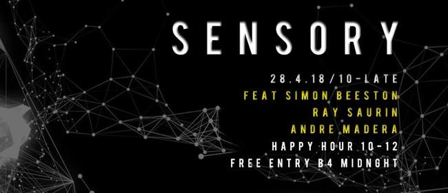 Sensory Ft - Ray Saurin, Andre Madera, Simon Beeston