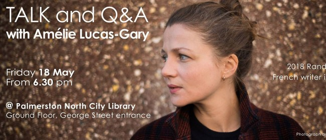 Talk and Q&A with Amélie Lucas-Gary