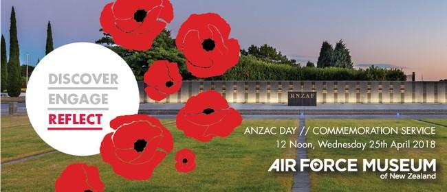 Anzac Day - Commemoration Service