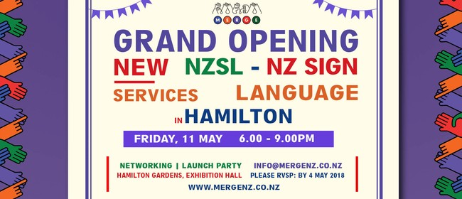 Merge NZ Launch (NZ Sign Language Company)