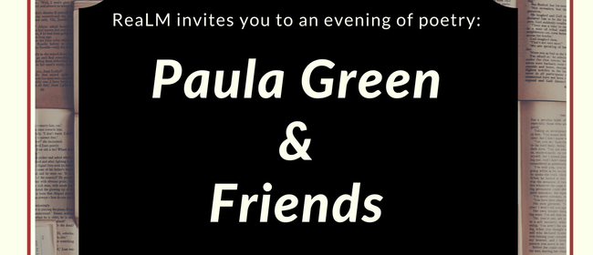 Paula Green & Friends - Conversation and Readings