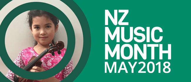 NZ Music Month Violin Performance