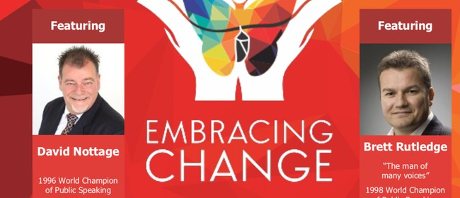 Embracing Change: Toastmasters NZ Conference 2018