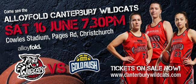 Alloyfold Canterbury Wildcats vs Otago Gold Rush