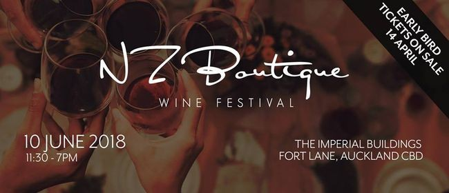 New Zealand Boutique Wine Festival 2018
