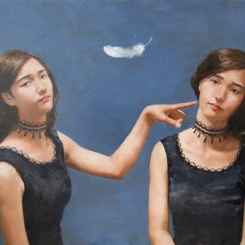 Studio One Toi Tū - Portrait Painting In Oil