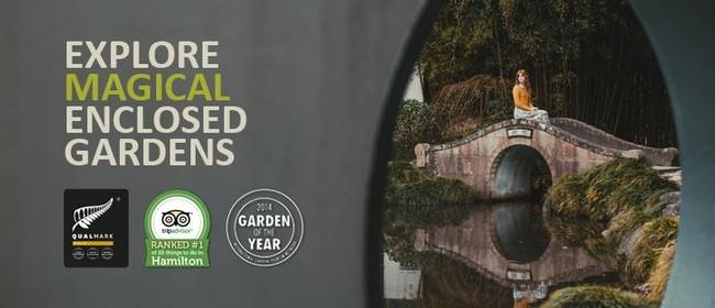 Take a Magical Tour of Hamilton Gardens